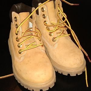 Timberland boots toddler size 10